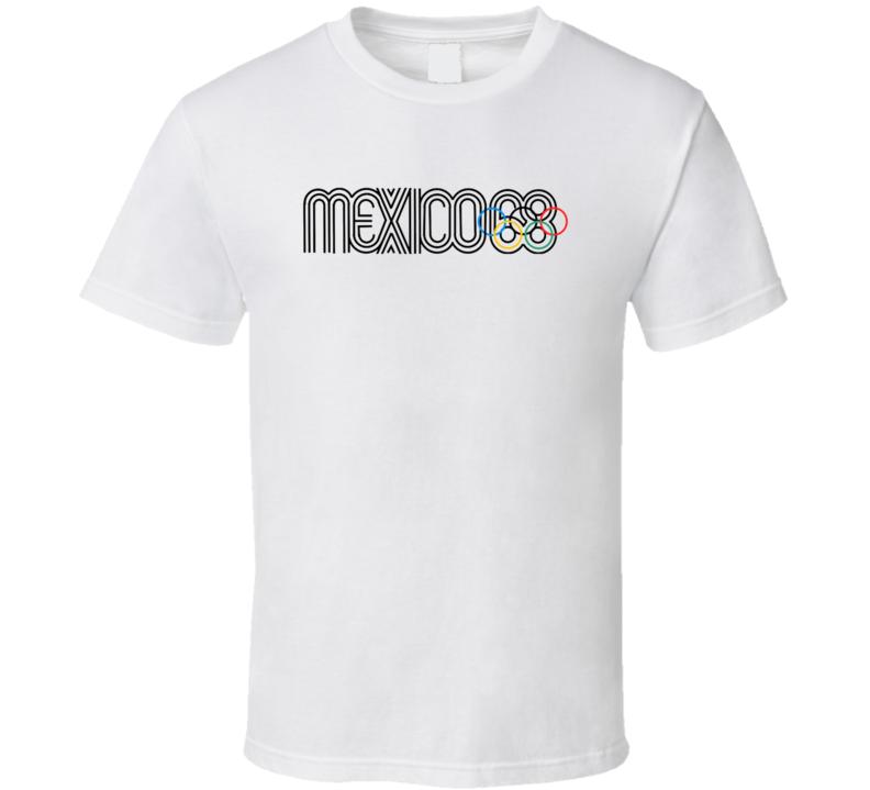 Mexico 1968 Summer Olympics T Shirt