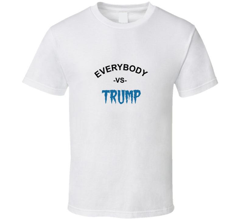 Everybody Vs Trump Marshawn Lynch Football Equality Halloween T Shirt - Blue