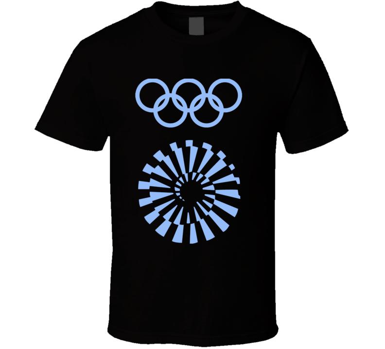 Munich 1972 Summer Olympics Logo T Shirt
