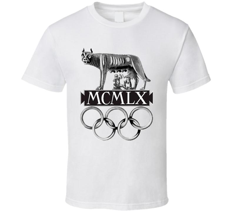 Rome 1960 Summer Olympics Logo T Shirt