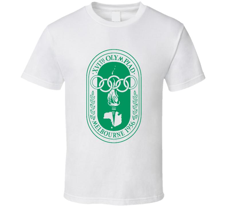 Melbourne 1956 Summer Olympics Logo T Shirt