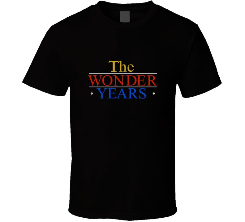 The Wonder Years Retro Tv Show T Shirt