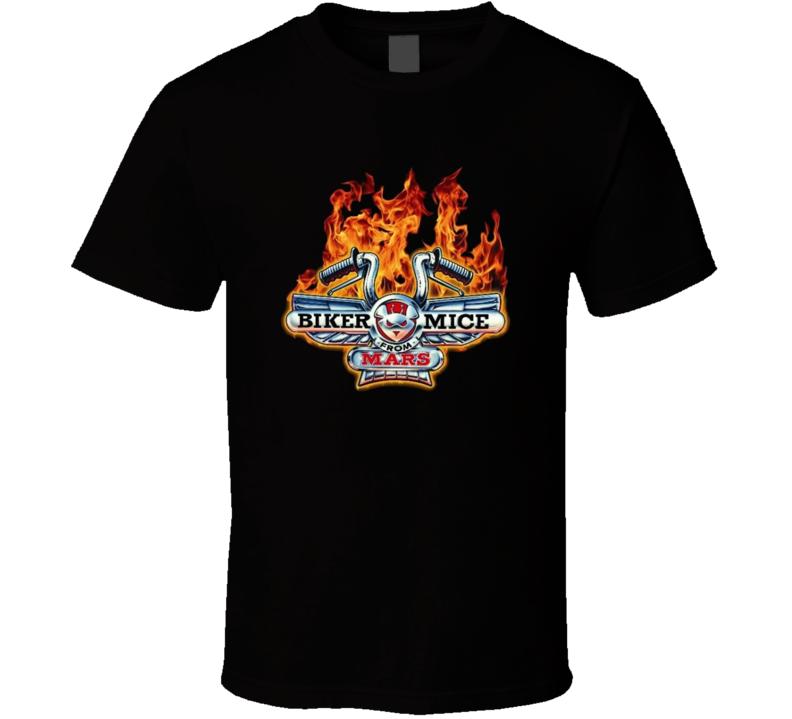Biker Mice From Mars Retro Cartoon T Shirt