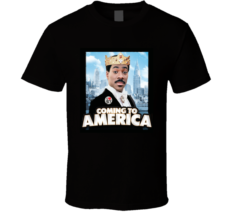 Coming To America Comedy 80's Movie T Shirt