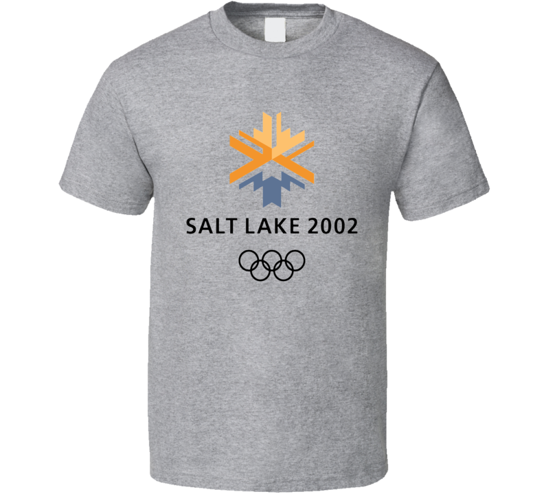 Salt Lake City 2002 Winter Olympics Logo T Shirt
