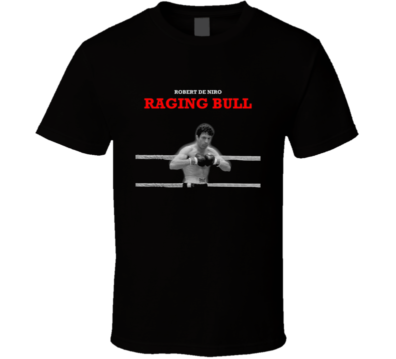 Raging Bull Robert De Niro Retro Movie T Shirt
