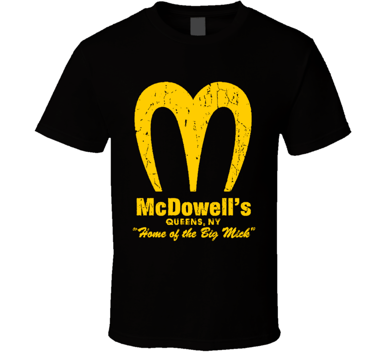 Mcdowell's Logo Restaurant Coming To America T Shirt