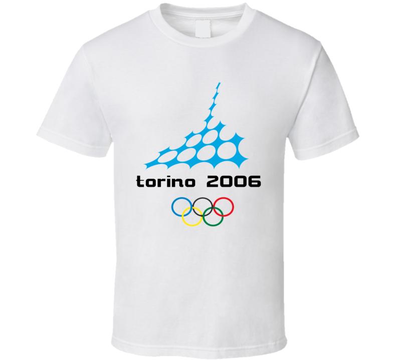 Torino 2006 Winter Olympics Logo T Shirt