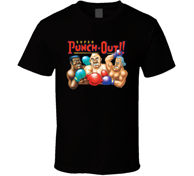 Super Punch Out Boxing Snes Video Game T Shirt