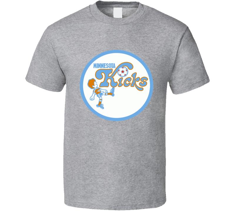 Minnesota Kicks Nasl Retro Soccer Team T Shirt