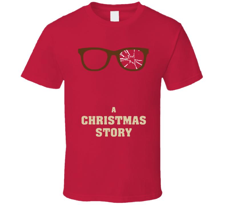 A Chirtmas Story Retro Funny Christmas Movie T Shirt