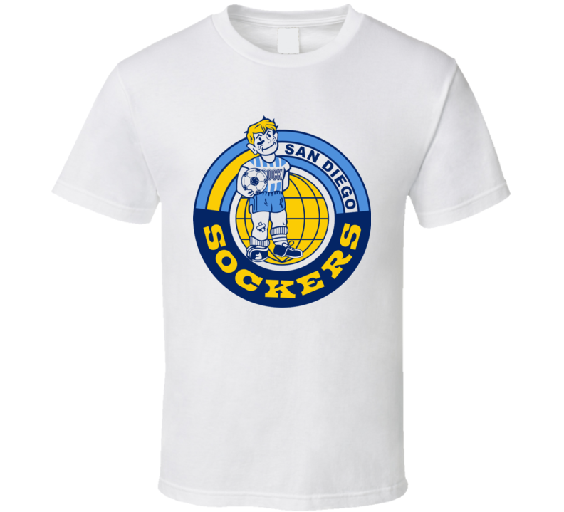 San Diego Sockers Nasl Retro Soccer T Shirt