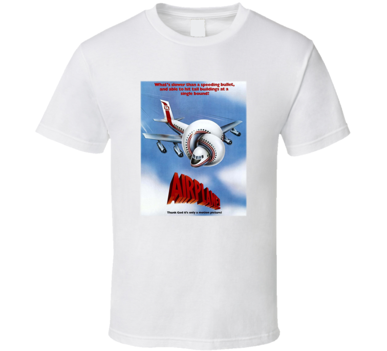 Airplane Classic Comedy Funny Movie T Shirt