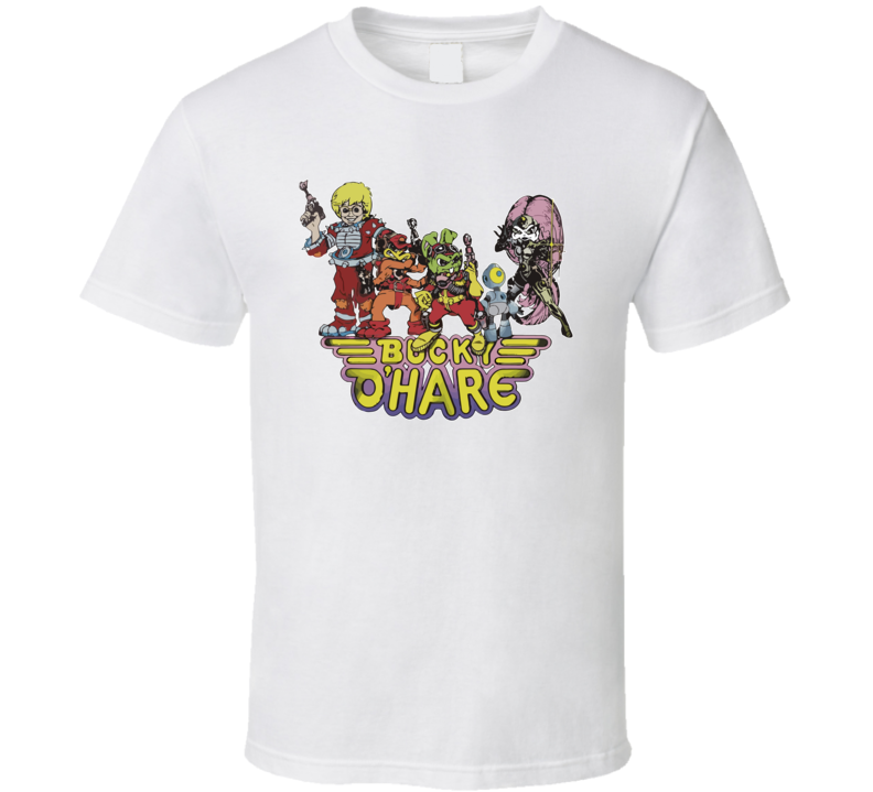 Bucky O'hare 90's Cartoon T Shirt