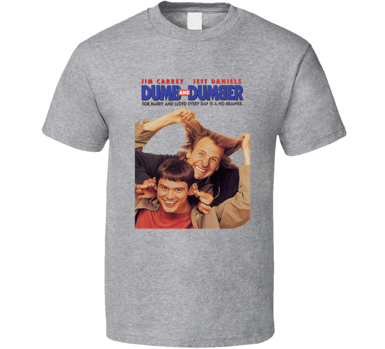 Dumb And Dumber Comedy Funny 90's Movie T Shirt