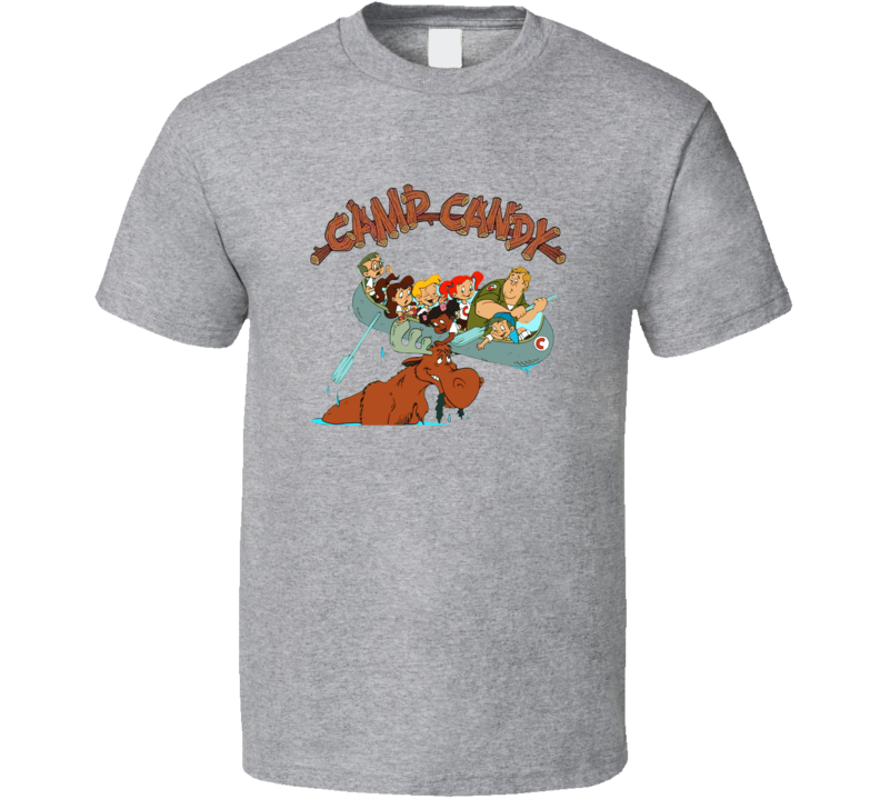 Camp Candy John Candy Retro Cartoon T Shirt
