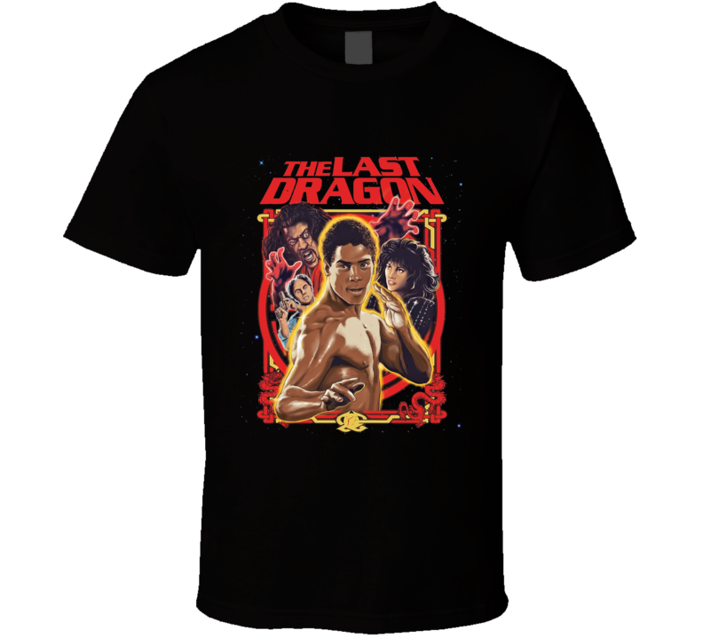 The Last Dragon Martial Arts Retro 80's Action Movie T Shirt