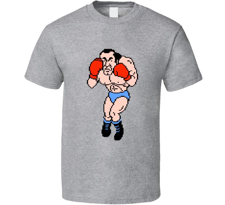 Super Macho Man Mike Tyson's Punchout Nes Boxing T Shirt