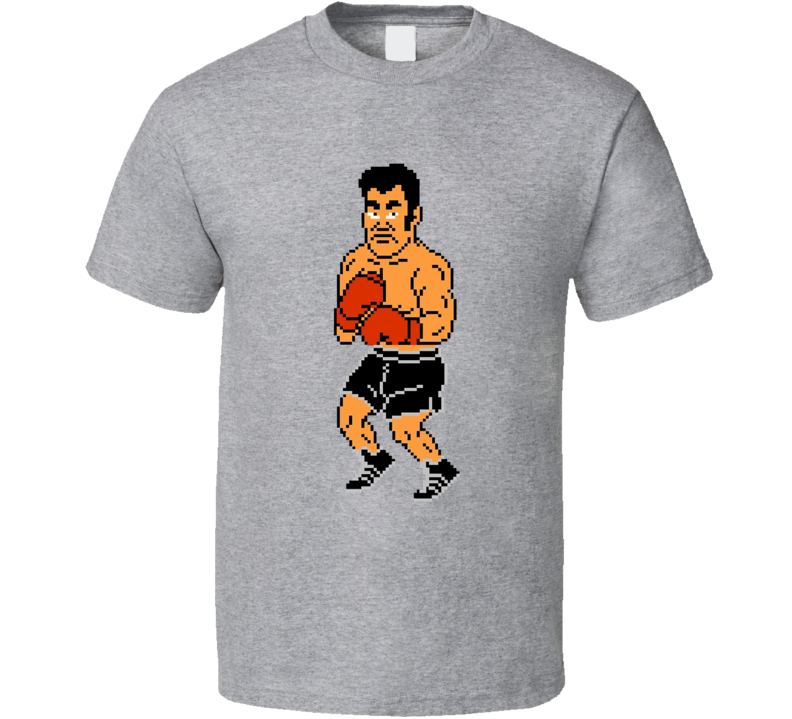 Piston Honda Mike Tyson's Punchout Nes Boxing T Shirt