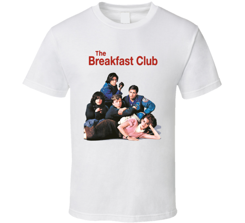 The Breakfast Club Classic Retro 80's Movie T Shirt