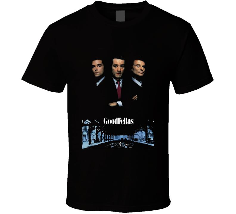 Goodfellas Retro 90's Gangster Movie T Shirt