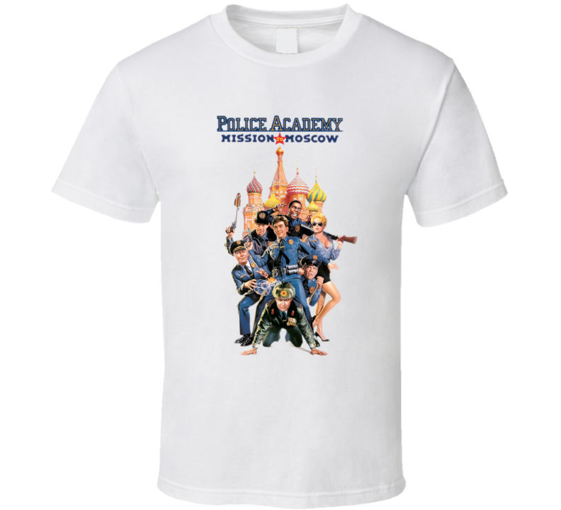 Police Academy 3 80's Retro Funny Movie T Shirt