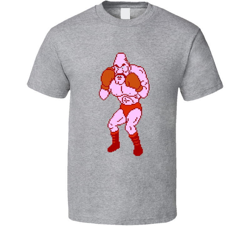 Soda Popinski Mike Tyson's Punch Out 8 Bit T Shirt