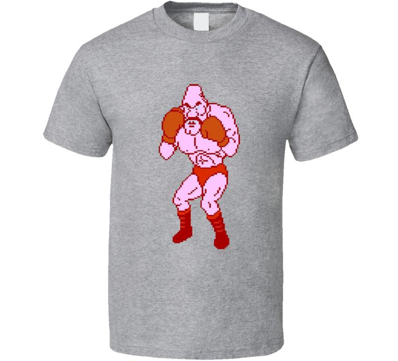 Soda Popinski Mike Tyson's Punch Out 8 Bit T Shirt
