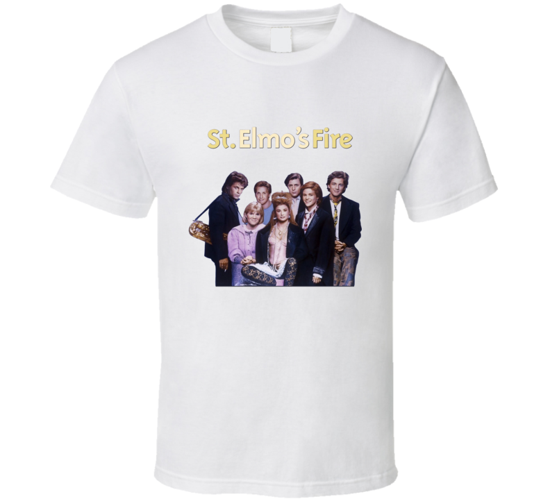 St Elmo's Fire Retro 80's Movie T Shirt