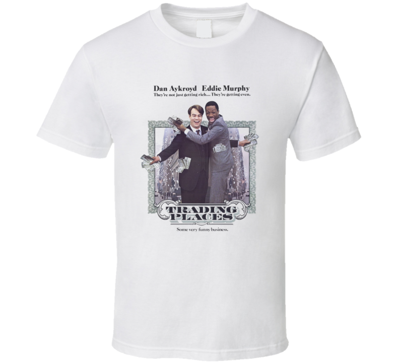 Trading Places Eddie Murphy Funny Retro 80's Movie T Shirt