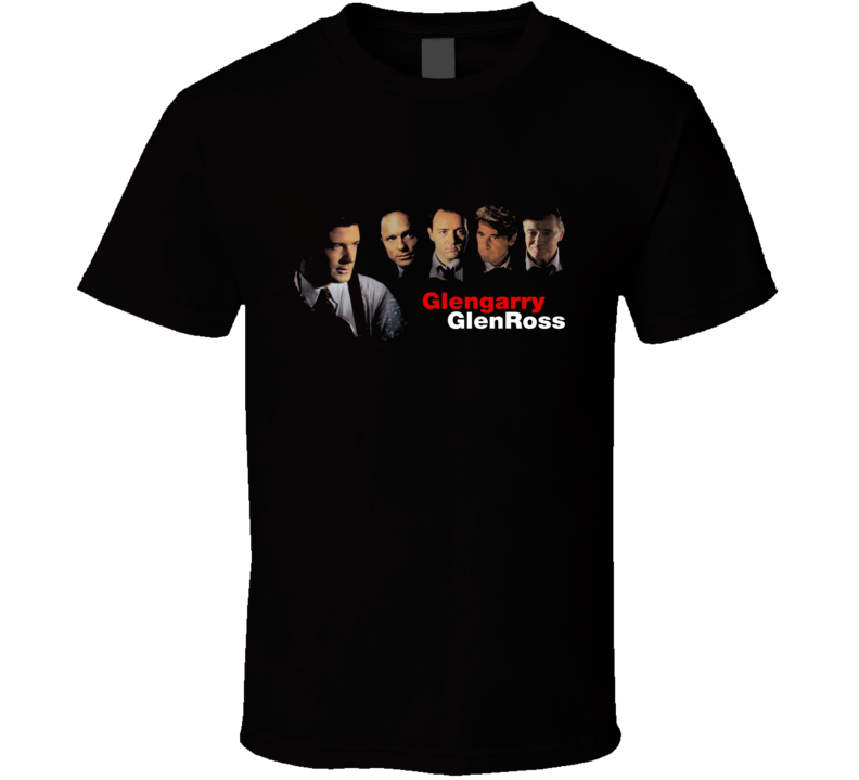 Glengarry Glen Ross Retro 90's Movie T Shirt