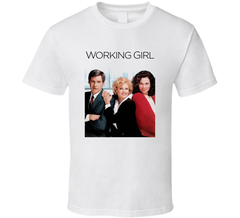 Working Girl Retro 80's Movie T Shirt