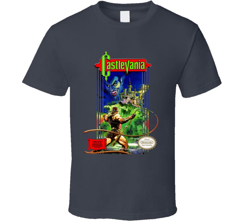 Castlevania Dark Grey T Shirt
