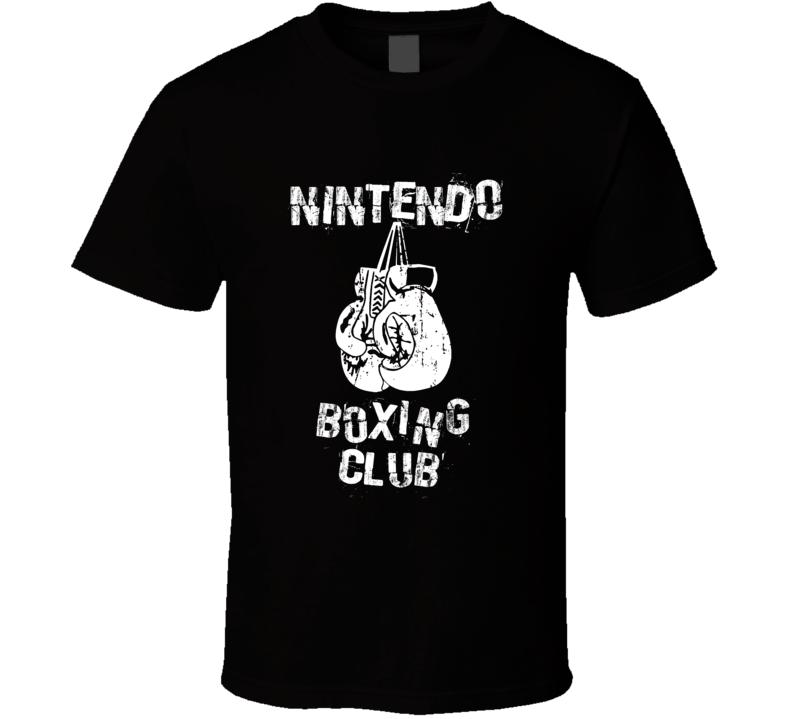 Nintendo Boxing Club Funny Video Game T Shirt
