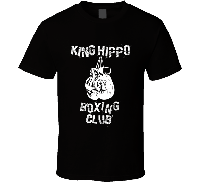King Hippo Mike Tyson's Punchout Boxing Club T Shirt