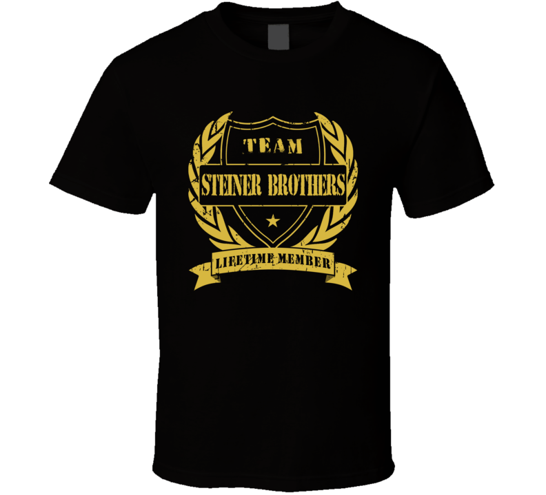 Steiner Brothers Team Lifetime Member Wrestling T Shirt
