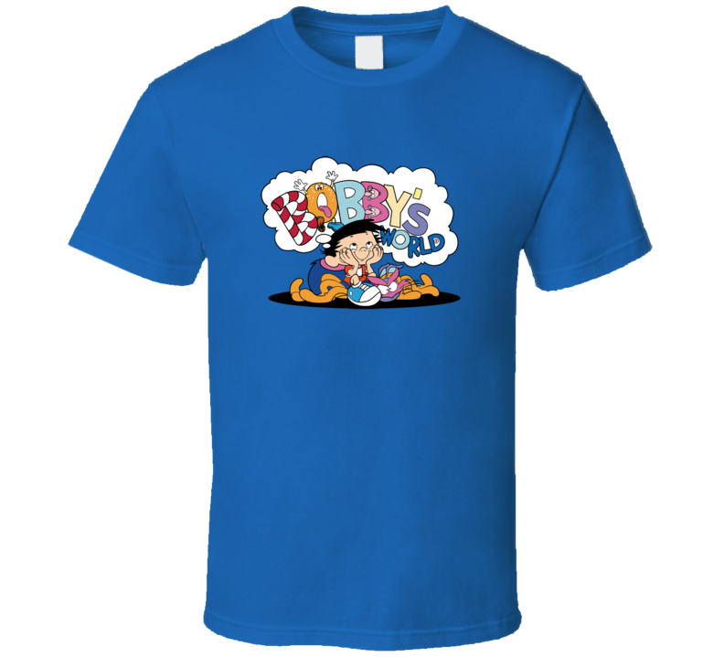 Bobby's World Royal Blue T Shirt