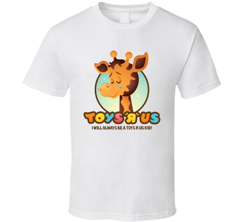 Toys R Us Giraffe Kids Toys White T Shirt