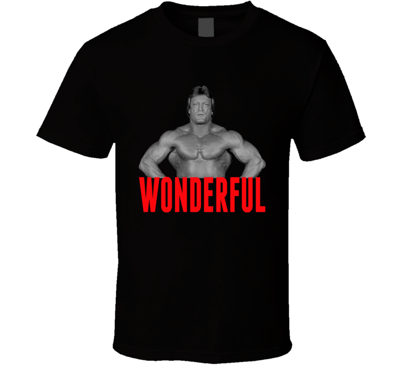 Mr. Wonderful Paul Orndorff Wrestling Legend T Shirt