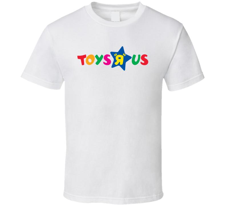 Toys R Us Retro Kids Store Logo T Shirt