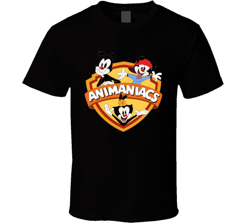 Animaniacs Retro Kids 90's Cartoon T Shirt