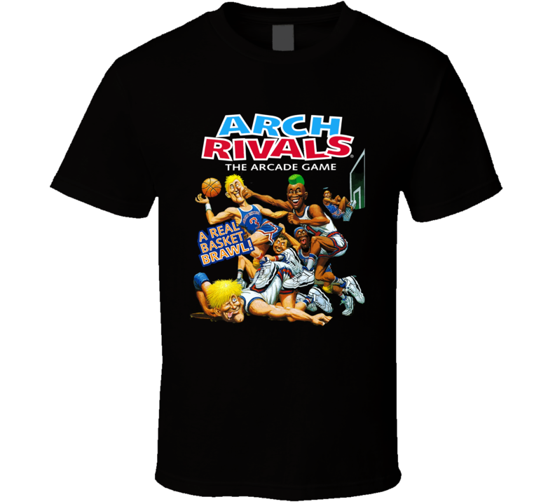 Arch Rivals Arcade Game Retro Video Game T Shirt