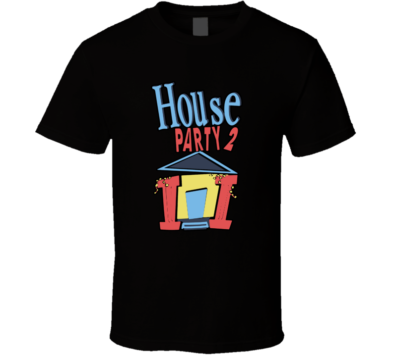 House Party 2 Retro Hip Hop Movie T Shirt