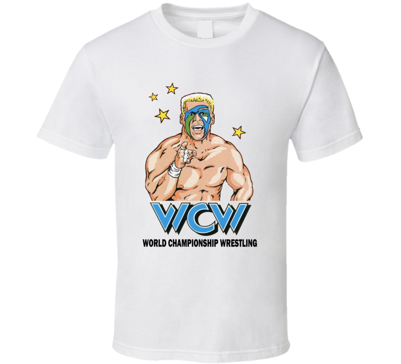 Wcw Sting Retro Wrestling Legend White T Shirt