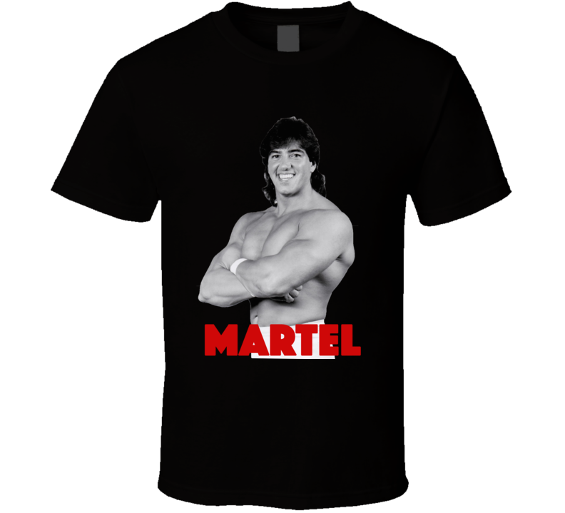 Rick Martel Wwf Legend Retro Wrestling T Shirt