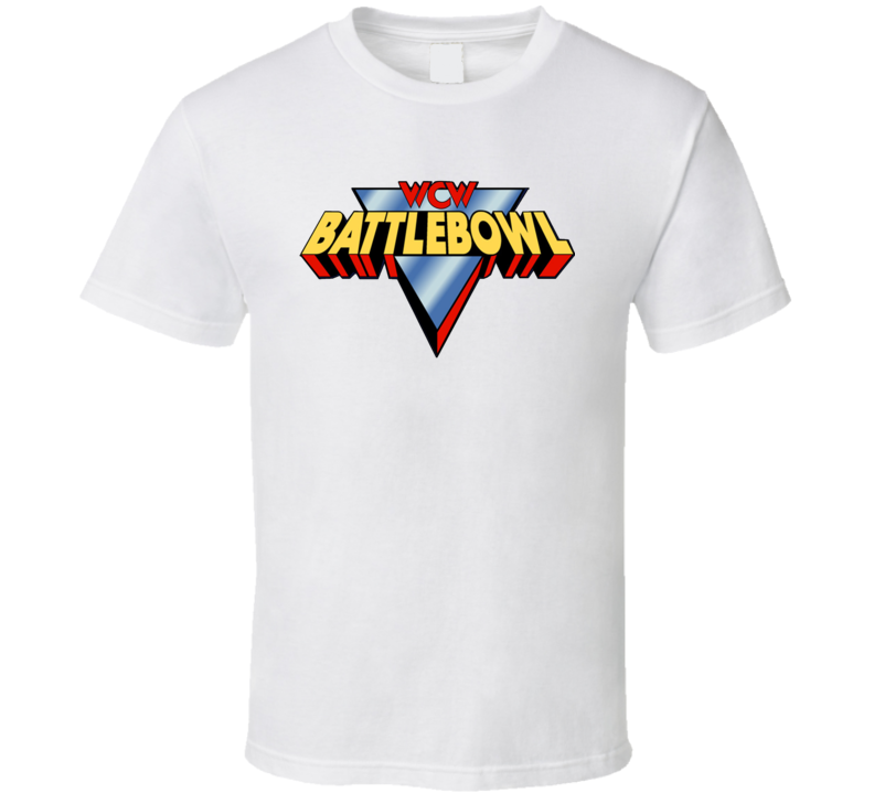 Wcw Battlebowl Retro Wrestling T Shirt
