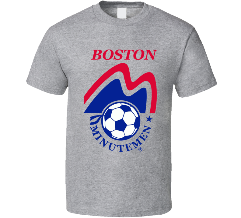 Boston Minutemen Retro Nasl Soccer T Shirt