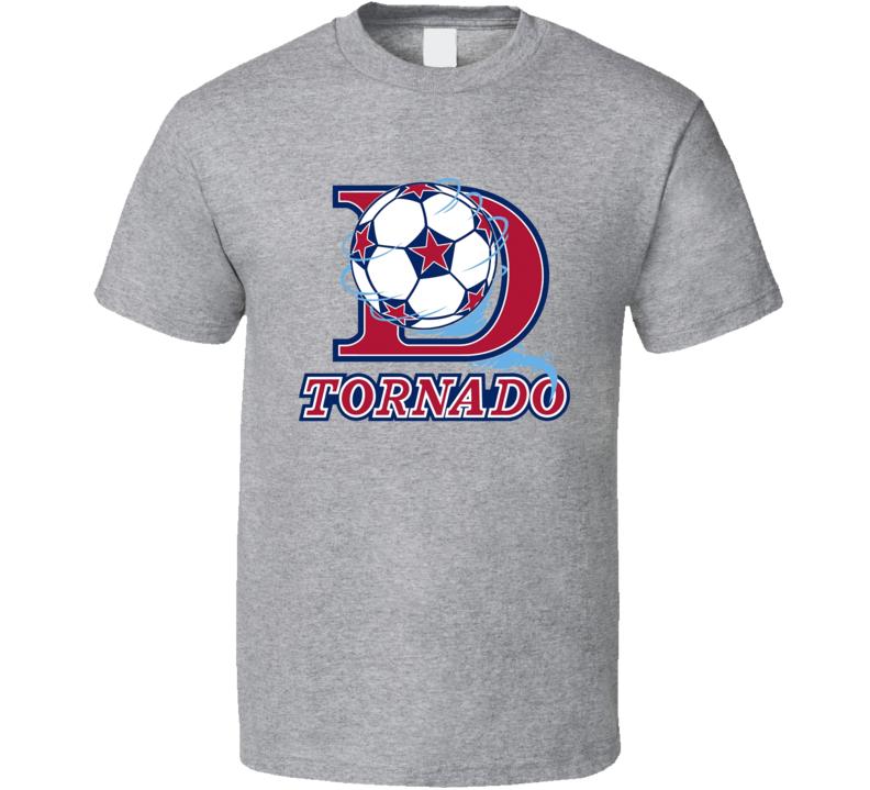 Dallas Tornado Retro Nasl Soccer T Shirt