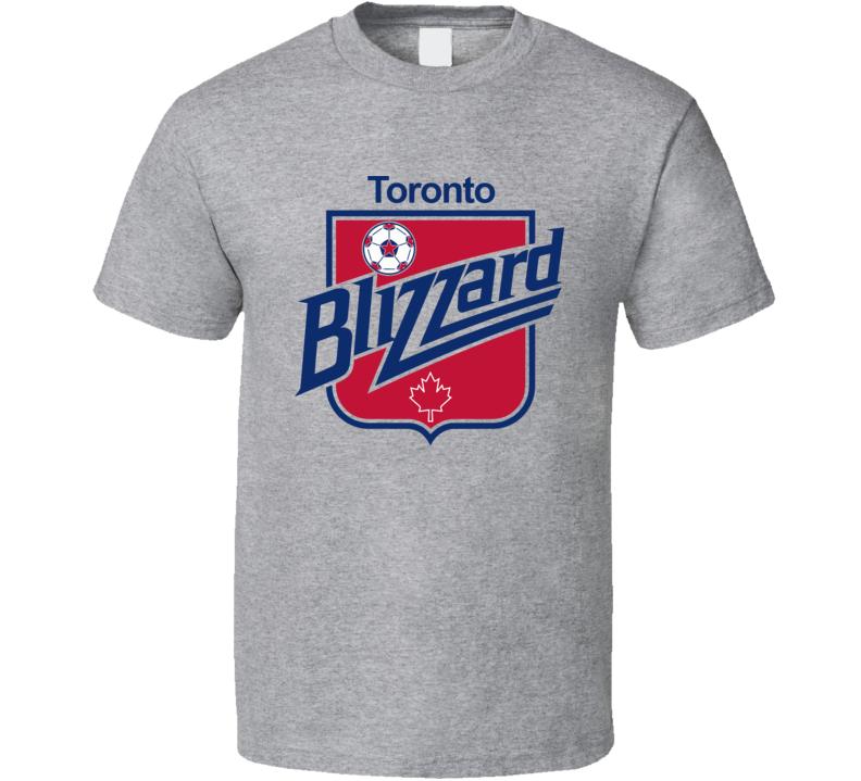 Toronto Blizzard Retro Nasl Soccer T Shirt