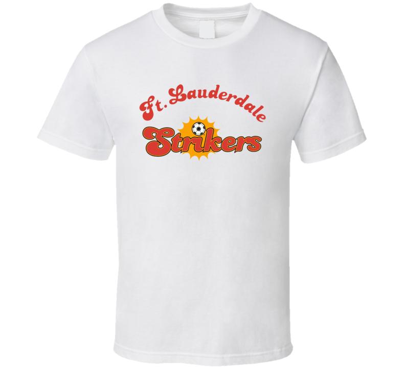 Ft. Lauderdale Strikers Retro Nasl Soccer T Shirt